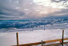 Valle Nevado Imagen de archivo