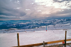 Valle Nevado Stock Image