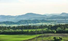 Valle in Norvegia Fotografia Stock Libera da Diritti