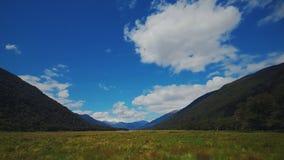 Valle in Nuova Zelanda Immagini Stock