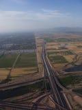 Valle orientale di Phoenix, AZ Fotografia Stock