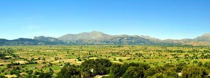 Valle panoramica Fotografia Stock