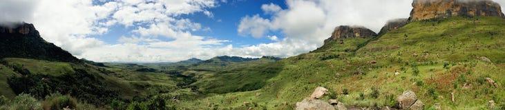 Valle panoramica Fotografia Stock Libera da Diritti