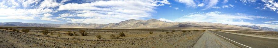 valle panoramica di morte Fotografia Stock