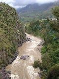 Valle Perù di Colca Fotografia Stock