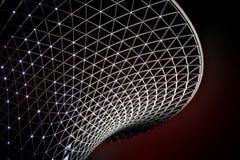 Valle piena di sole del boulevard dell'Expo del mondo di Schang-Hai Fotografia Stock Libera da Diritti