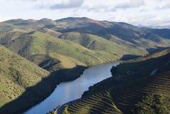 Valle Portogallo del Coa Fotografia Stock