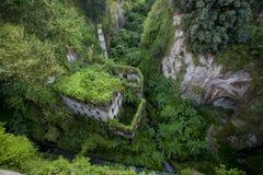 Valle profonda dei mulini a Sorrento Fotografie Stock