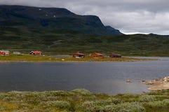 Valle profonda in Norvegia Immagini Stock