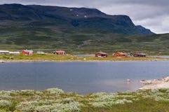 Valle profonda in Norvegia Immagini Stock Libere da Diritti