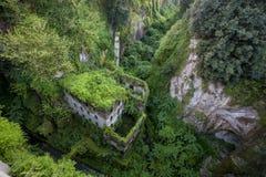Valle profundo de los molinos en Sorrento Fotografía de archivo libre de regalías
