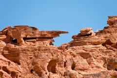 Valle rocoso del fuego Foto de archivo libre de regalías