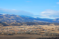 Valle rural imagen de archivo libre de regalías