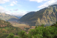 Valle sacra del Inca immagini stock