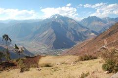 Valle sacra nel Perù immagini stock
