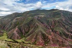Valle sacra Regione di Cusco, provincia di Urubamba, Perù immagine stock libera da diritti