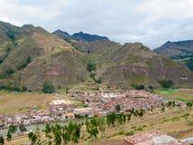 Valle sagrado de los incas fotografía de archivo