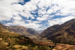 Valle sagrado de los incas fotos de archivo