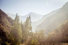 Valle sagrado de los incas Foto de archivo libre de regalías
