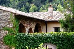 Valle San Pietro opactwa Zdjęcia Stock