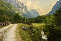Valle stupefacente della montagna Fotografie Stock Libere da Diritti