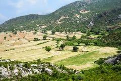 Valle tropical - Paquistán Imágenes de archivo libres de regalías