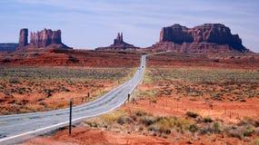 Valle Utah del monumento Imágenes de archivo libres de regalías