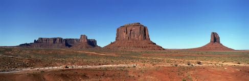 Valle Utah del monumento Immagine Stock