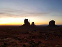 Valle Utah, surise del monumento di colori immagine stock libera da diritti