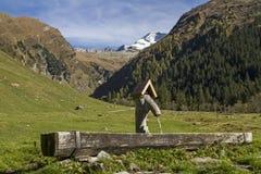 In valle Vals Fotografia Stock