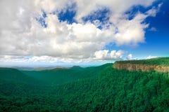 Valle verde Fotografía de archivo