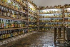 VALLE VERDE, BETIM, Brasil-museo del cachaca Imagen de archivo libre de regalías