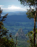 Valle volcánico Fotos de archivo libres de regalías