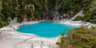 Valle volcánico de Waimangu, Nueva Zelanda Fotografía de archivo libre de regalías
