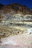 Valle vulcanica di Nisyros, Grecia Immagini Stock Libere da Diritti