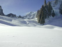 Vallee Blanche 5. The Vallee Blanche 5 royalty free stock image