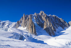Vallee Blanche Stock Images