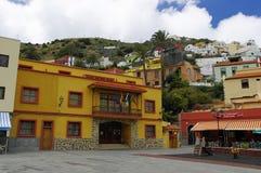 VALLEHERMOSO, Λα Gomera, Κανάρια νησιά, Ισπανία Στοκ εικόνες με δικαίωμα ελεύθερης χρήσης