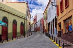 VALLEHERMOSO, Λα Gomera, Κανάρια νησιά, Ισπανία Στοκ Εικόνες