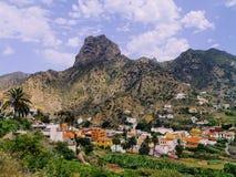 Vallehermoso on Gomera Royalty Free Stock Photos