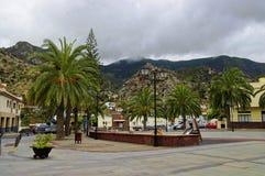 VALLEHERMOSO, La Gomera, Canarische Eilanden, Spanje Royalty-vrije Stock Fotografie