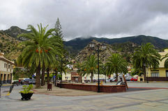 VALLEHERMOSO, La Gomera, Kanarische Inseln, Spanien Lizenzfreie Stockfotografie