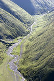 vallei in bergen Royalty-vrije Stock Afbeelding