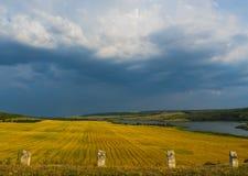 Vallei de Oekraïne Stock Fotografie