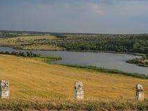 Vallei de Oekraïne Royalty-vrije Stock Foto's
