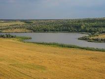 Vallei de Oekraïne Stock Foto