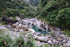 Vallei in Mukumugi stock afbeelding