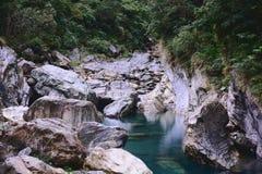 Vallei in Mukumugi stock foto's
