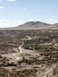 Vallei in Tanzania Stock Afbeeldingen