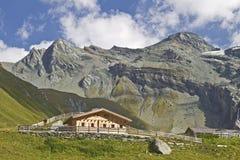 In vallei Teischnitz in Oost-Tirol Royalty-vrije Stock Foto's